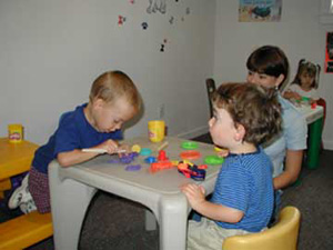Speech therapy, Physical therapy and other services are available.